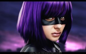 Hit Girl Kick Ass by DrLinuX