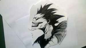 Ryuk by ClaudiaMendozAn