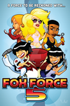 Fox Force Five Poster by WarBrown