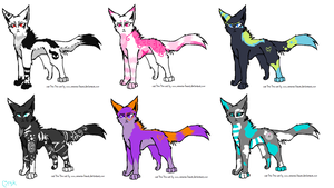 ...: Adoptables OPEN :... by TorturedSoulKeeper