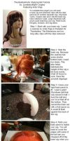 Uberponytail Cosplay Wig Tutorial by lunaladyoflight