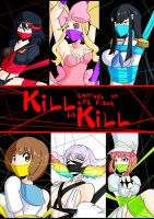 Kill la Kill mini did set by GreenLeona