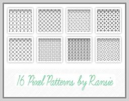 Pixel Patterns 01 by Ransie3
