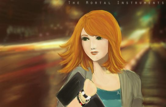 Clary Fray - Mortal Instrument by Patsie
