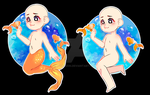 YCH goldfish OPEN Paypal and Points by Celiicmon