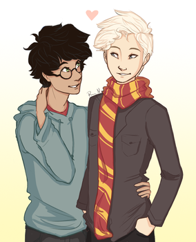 Commission: drarry by Vintage009