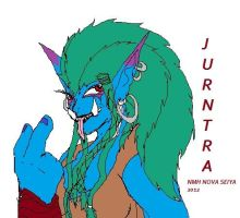 WOW WIP- My Troll Jurntra by SpaceRanger108