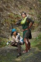 Isabela and Merrill 01 by static-sidhe