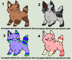 more random adopts CLOSED by dovepaw3000