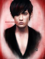 Jay Chou - Drawing by MakaiAsh