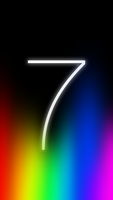 iOS 7 Black Background by ndenlinger