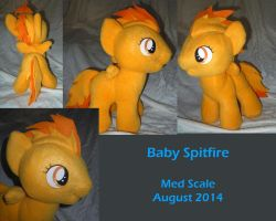Baby Spitfire by LilWolfStudios