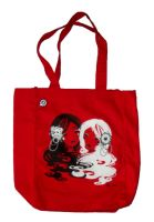 Sugar and Cyanide Tote Bag by Blush-Art