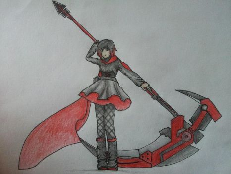 Ruby Rose by rawrrawrrou