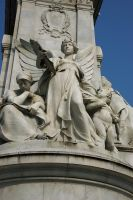 RSNS Buckingham Monument Angel by rensstocknstuff