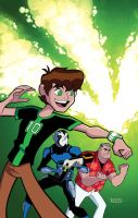 Ben10 cover by dfridolfs