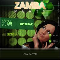 ZumbaParty Flyer by jrmagalhaes