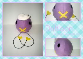 Drifloon Plushie by Unaji