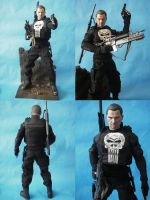 Custom 1/6 Scale Hot Toys Punisher by cusT0M