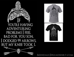 Guard Problems Shirt by Mehdals