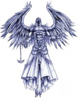 Angel of Retribution by Lordofhjoerring