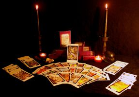 Greek Mythology Tarot Cards by El-Sharra