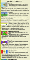 The flags of Arelium by tomren