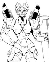 Chromia (lineart) by beamer
