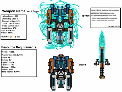 Warframe weapon upgraded look 2.0.... by theFallenSENTIENT18