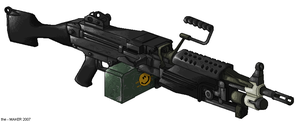 m249 SAW by Masque-De-Mort