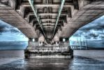 Under the Severn Bridge by nicholls34