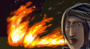 89. Through the Fire by blooangel
