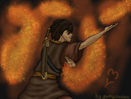 Zuko from the last airbender by RisingAngelss