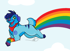 Rainbows by AJ-Shep