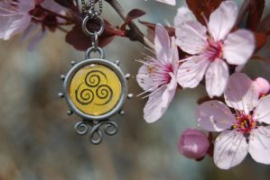 Airbender Necklace by zeldalilly