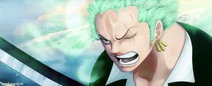 Zoro vs peeka by Lord-Nadjib
