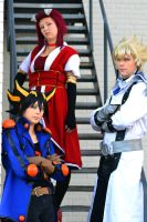 The Yu-Gi-Oh! 5D's Team! by ShadowFox-Cosplay