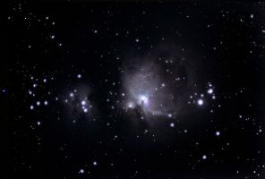 Widefield Orion Nebula by quicksimon