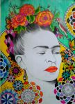 Frida Kahlo1 by happinessfull