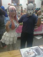 Super Sonico and King Alternate 1 by daigospencer