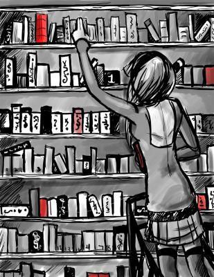 library girl by bluewolf-2124