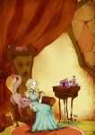 Alice and Cheshire Cat by SilentEve