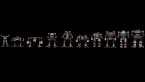 Clan Mech Lineup v2 by FJ4