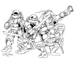Teenage Mutant Ninja Turtles by Y2Dane