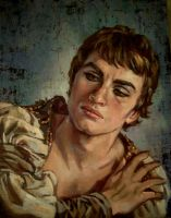 Nureyev.oil paint by xxaihxx