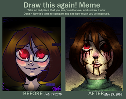 Draw this again meme by RaidioactiveVampy