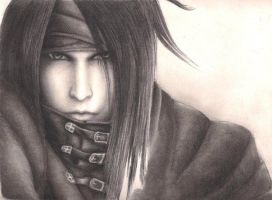 Vincent Valentine--unfinished by PhoenixBrahne
