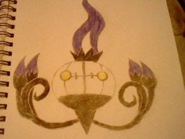 Chandelure by Emperorzeta