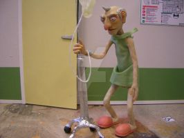Stop motion character by iamwinterborn