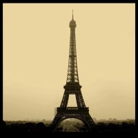 The Eiffel Tower by SweetDestiny